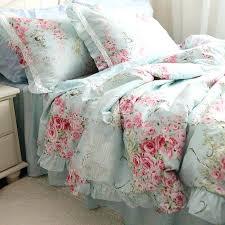 ruffle bedding shabby chic fabulous shabby chic bedding bedspreads comforters elegant ideas
