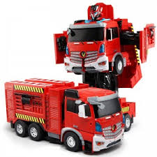 """<b>Радиоуправляемый робот</b>-<b>трансформер JiaQi</b> """"Пожарная ..."""
