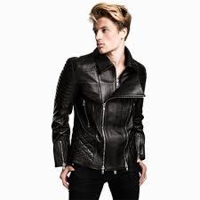 impero london mens iconic luxury double zipped biker jacket