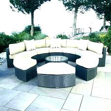 semi circle outdoor furniture sofa inexpensive patio chairs a circular furni