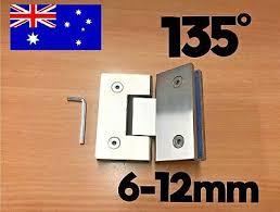 glass shower door hinge bracket repair