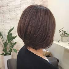 Yusuke Nakamuraさんのヘアスタイル ピンクベージュ ボブ 大