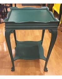 Wooden Side Table Lee Lees Valise Decorative Square Wooden Side Table In Green