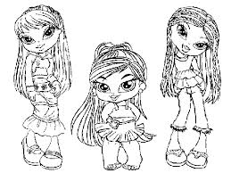 Small Picture Baby bratz coloring pages