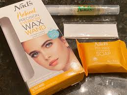 You really wanna let your hair grow back in and just give your skin a little bit of a break in between waxes. Nad S Precision Eyebrow Wax Wand Review I Use It Between Salon Visits