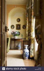 Living Room Alcove View Through Open Door Into Living Room With Arched Alcove In A