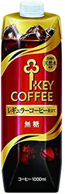 Kono, iwaki and key coffee. Amazon Com Key Coffee Liquid Iced Coffee Unsweetened Tetra Prisma Natural Coffee Non Sugar 1l 33 8oz X 5 Bottles Product Of Japan Limited Quantity Grocery Gourmet Food