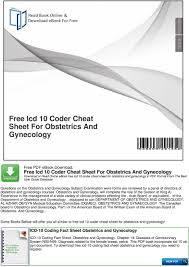golf club distance cheat sheet free icd 10 coder cheat sheet for obstetrics and gynecology pdf