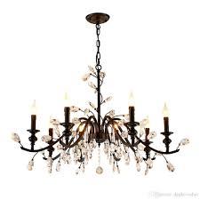 retro rural crystal chandelier black bedroom crystal lighting crystal chandelier bulbs luxury chandelier e14 led lamp retro rural crystal chandelier led