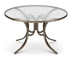 48 round glass top dining table