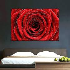 red rose wall decor wall arts canvas wall art red red rose multi panel canvas wall red rose wall decor