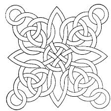 Islamic Geometric Patterns Coloring Pages Color On Geometric