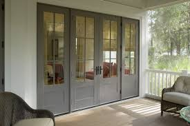 Popular Of Wood French Patio Doors Composite Gliding Door With Woodgrain Interior Residence Decor Photos