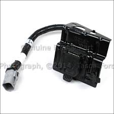new oem 4 pin 7 pin trailer tow wire wiring harness kit 2002 04 image is loading new oem 4 pin amp 7 pin trailer