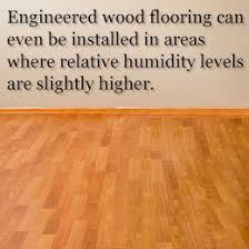 Engineered Wood Flooring Usage Tip