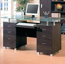 superb glass top desk glass top for desk coaster glass top double pedestal desk glass top