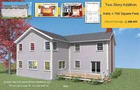 two story addition concept plans