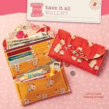 Free Wallet Patterns Stunning Digital Have It All Wallet Sewing Pattern Shop Oliver S