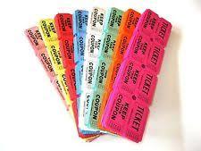 Raffles Tickets Raffle Tickets Ebay