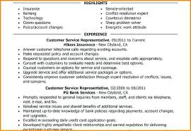bank customer service representative resume customer service representative resume insurance customer service