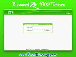 To access the zte router admin console of your device, just follow. Kumpulan Password Username Modem Zte F609 Indihome 2020 Terbaru Kaca Teknologi
