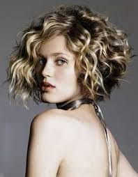 chic short hairstyles for curly thick hair