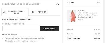 ASOS Discount code ➤ 80% discount + 20 ...