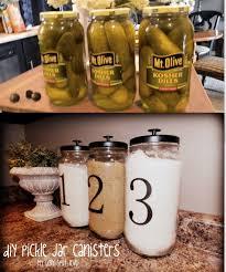 10 Great ideas for upgrade the kitchen 2. Pickle JarsPickle Jar CraftsJar  Lid ...