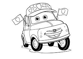 Kleurplaten Cars Bliksem