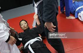 """Team Grips member Amie Chang training at JAB in Central. """"Team ..."""