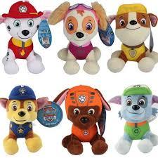 Stuffed Animal Vending Machine Interesting Fashion Cartoon Paw Patral Plush Stuffed Toys 48cm For Crane Vending