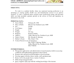 Resume For Job Format Examples Of Job Resumes And Get Inspired To Make Your Resume With 41