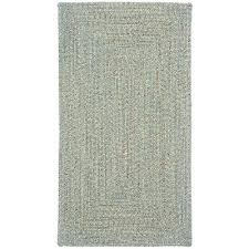small spa green braided indoor outdoor rug sea glass