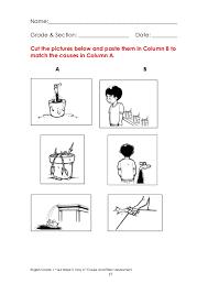 Kindergarten Cause And Effect Worksheets Worksheets for all ...