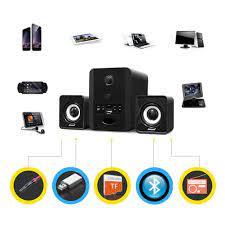 Video Review} Bộ Loa Nghe Nhạc Máy Vi Tính Gaming SADA D-223 Hỗ Trợ  Bluetooth, USB, Thẻ Nhớ, Jack 3.5 - Loa Bluetooth Thương hiệu No Brand
