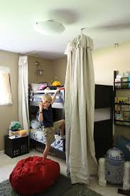 Bed fort or canopy for boys room from beachbrights | Little Dude's ...