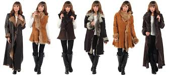 italian designer shearling sheepskin fur coats jackets gilets