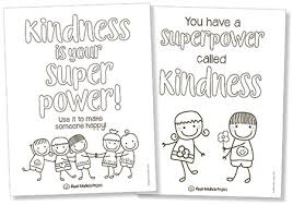 Instill kindness for everyone with this inspirational coloring page set from indigo ink boutique. Character Building Wellbeing Resources For Back To School Distance Learning Ripple Kindness Project