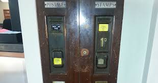 Stamp Vending Machines Dublin Stunning Dublinia Automated Stamp Dispenser Plus Postbox All In One 48