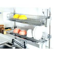 Dish Drying Rack Walmart Custom Bamboo Dish Rack Dish Racks Bed Bath And Beyond Dish Drying Rack In