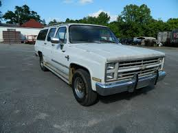 1987 Chevy C20 Suburban pickup - 6/7/14 PUBLIC AUCTION in Alabama ...