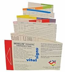 Armstrong Cove Base Color Chart Broselow Pediatric Emergency Tape 2017