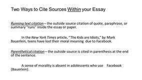 sample essay for summarizing paraphrasing and quoting personal sample essay for summarizing paraphrasing and quoting