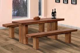 Bench Style Kitchen Tables Wooden Bench And Table Wooden Kitchen Tables With Benches
