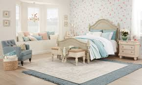 Vintage chic bedroom furniture Light Pink Shabby Chic Bedroom With Ruffled Bedspread Overstock Beautiful Shabby Chic Furniture Decor Ideas Overstockcom