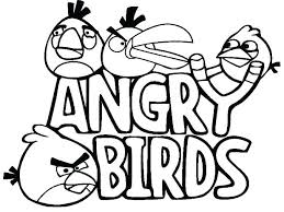 angry birds go drawing