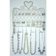 necklace wall hanger necklace wall hooks necklace wall hangers necklace wall hanger white jewellery display jewelry necklace wall hanger