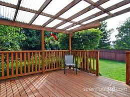 deck roof what are my options