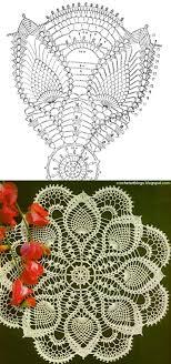 Doily With Chart Free Crochet Doily Patterns Crochet