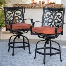 aluminum patio swivel bar stools i92